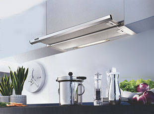 KRONAsteel quality standards are the guarantee of reliable functioning of the kitchen hood